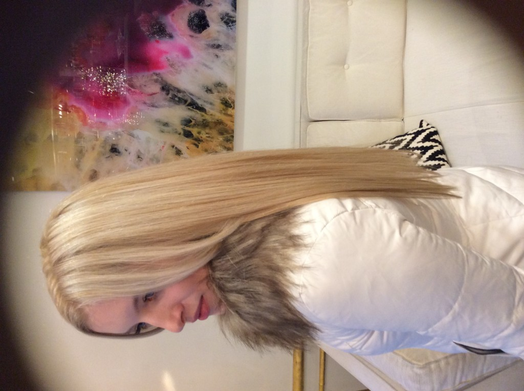Blonde Base with Blonde Highlights