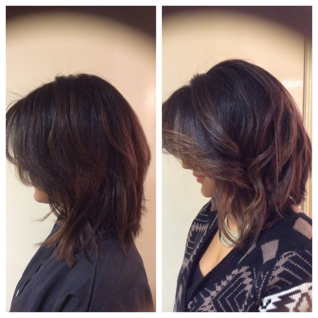 Accentuated a Haircut with Balayage